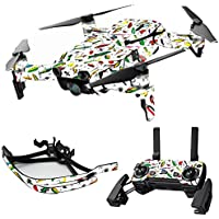 MightySkins Skin for DJI Mavic Air Drone - Bright Lures   Max Combo Protective, Durable, and Unique Vinyl Decal wrap cover   Easy To Apply, Remove, and Change Styles   Made in the USA