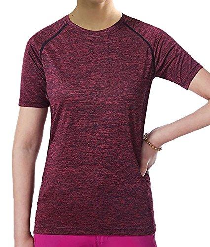 [キャプテン?ケイ] レディース ドライフィット スポーツシャツ トレーニング Tシャツ 吸汗 速乾 ドライ 半袖