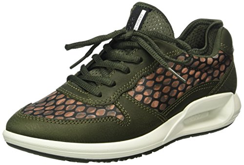Cs16 ikat Forest Baskets Vert Ecco Ladies Basses deep Print50152 Femme Sd1Wqw