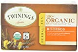 Twinings Rooibos Organic, 20 Count Tea Bags