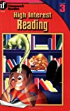 High-Interest Reading, McGraw-Hill Staff and C. Karwowski, 156822611X
