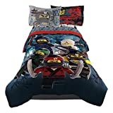 Lego Ninjago Warriors Movie Boys Twin Comforter & Sheets (4 Piece Bed In A Bag) + HOMEMADE WAX MELTS