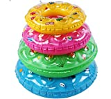 MISSNINE9 PVC Beginner Kids Inflatable Rubber Swimming Pool Beach Tube Swim Ring Fit for 5-9year old child