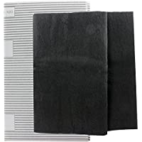 Spares2go Large Cooker Hood Grease Filters For Stoves Vent Extractor Fans (2 x Filter, Cut to Size - 100 cm x 47 cm)