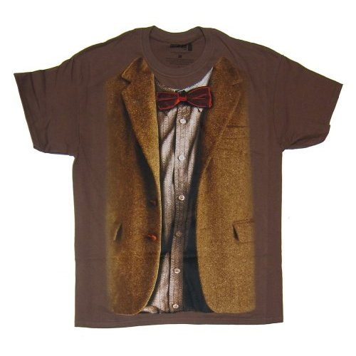 Doctor Who 11th Doctor Costume T-shirt (X-Large)]()