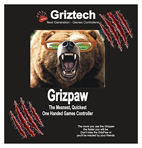 Grizpaw One (Left or Right) Handed Game Controller - Pc P...
