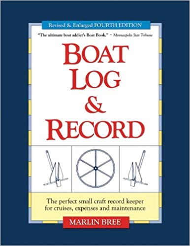boat log record the perfect small craft record keeper for cruises
