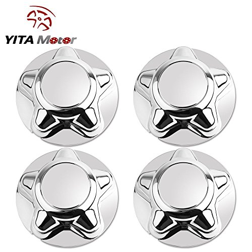 YITAMOTOR 4PCs Fit 97-04 Ford F150 & Expedition - Expedition Chrome