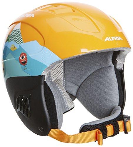 ALPINA Kinder Skihelm Carat, Orange, 48-52, 9035145