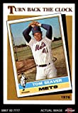 1986 Topps # 402 Turn Back The Clock Tom Seaver New York Mets (Baseball Card) Dean's Cards 8 - NM/MT Mets