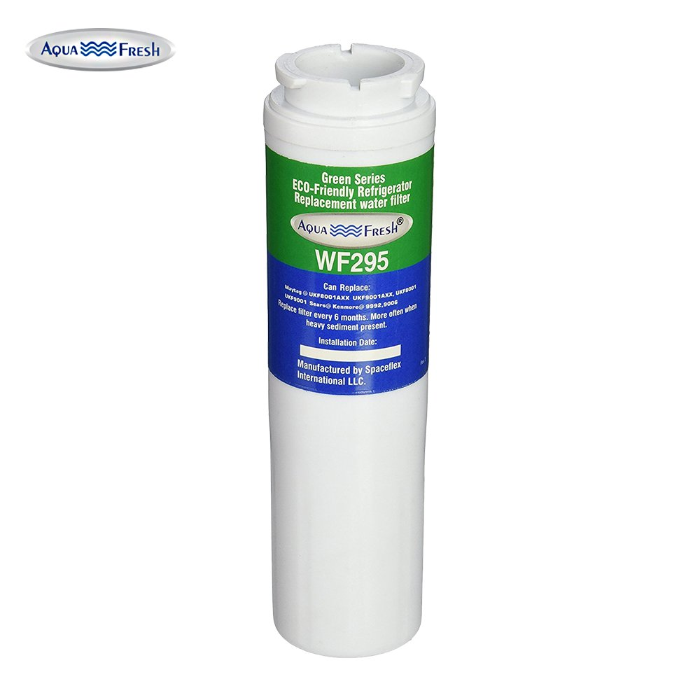 Aqua Fresh WF295 Refrigerator Water Filter Compatible With Maytag UKF8001, Whirlpool 4396395, EveryDrop EDR4RXD1, Filter 4 (1 Pack)