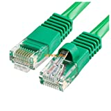 RJ45 CAT5 CAT5E ETHERNET LAN NETWORK CABLE - 5 FT Green