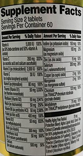 Vitacost Women's 50 Plus Multi Vitamin -- 120 Tablets