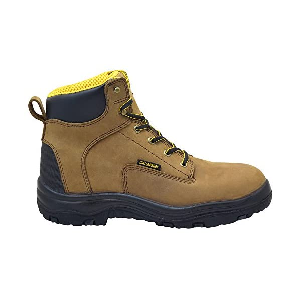 """EVER BOOTS """"Ultra Dry"""" Men's Premium Leather Waterproof Work Boots Insulated Rubber Outsole 2"""