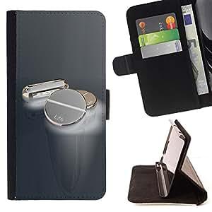 BullDog Case - FOR/Sony Xperia M2 / - / Metal Pills /- Monedero de cuero de la PU Llevar cubierta de la caja con el ID Credit Card Slots Flip funda de cuer