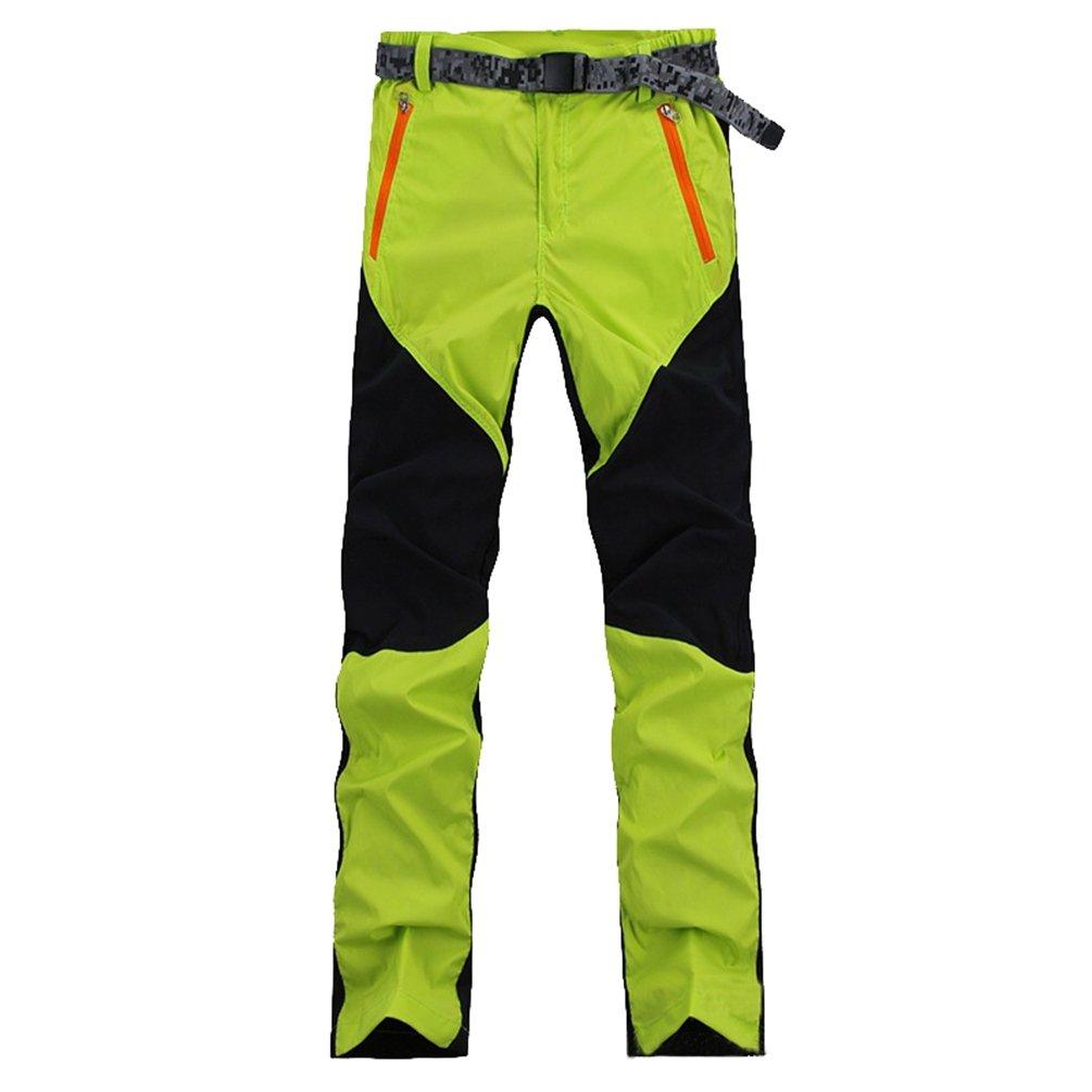 YiLianDa Pantalones de Trekking Hombre Pantalones de Softshell Pantalones de Monta/ña Impermeables Resistente al Viento Transpirable de Escalada