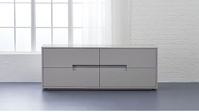 Aprodz Mango Wood Corta Sideboard Storage Dresser for Living Room | Oat Finish