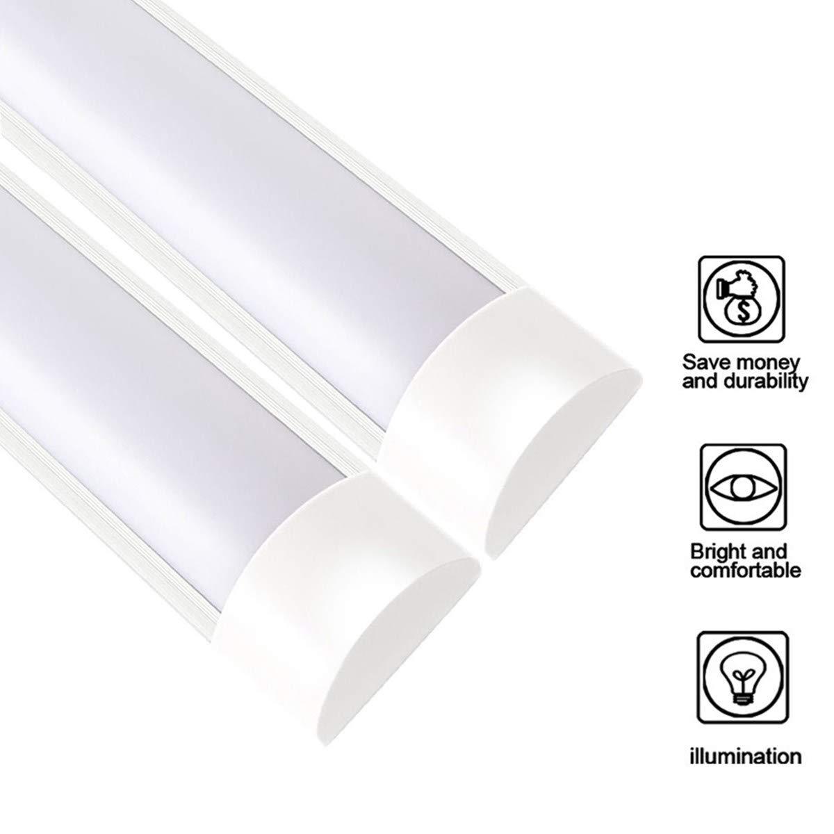 XYD 2 PCS 10W 30cm LED Tube Lights T10 3000K White Warm 1200lm IP65 Tubi Fluorescenti Impermeabili Lampade Da Parete Per Home Office Corridoio Officina