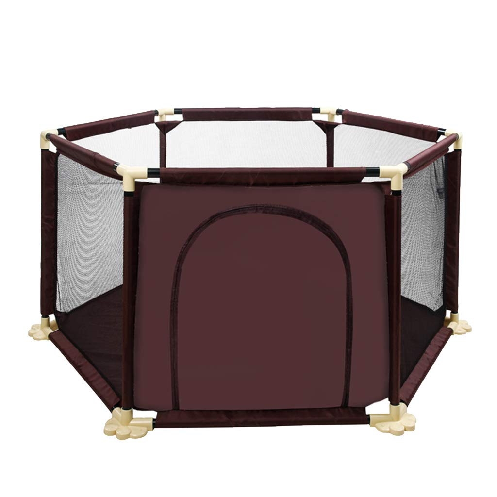 ベビープレイペン 安全ゲート テント 安全ゲート ポータブル&コンパクト 安全 家庭用 保護フェンス 強くて丈夫なプレイペン   B07QZB3WVK
