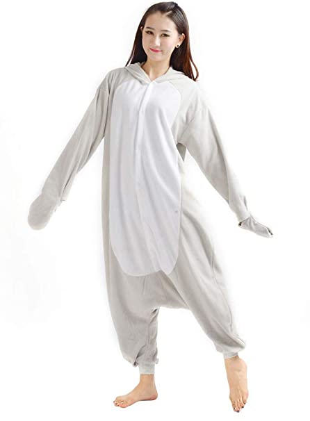 03a7a4b718ba7 Kigurumi Onesie Pyjama Combinaison Animal Adulte Unisexe Cosplay Halloween  Costume Seal  Amazon.fr  Vêtements et accessoires