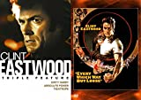 Clint 4 Movie Collection Eastwood Every Which Way But Loose + Triple Feature Dirty Harry / Tightrope / Absolute Power Movie Bundle Film pack