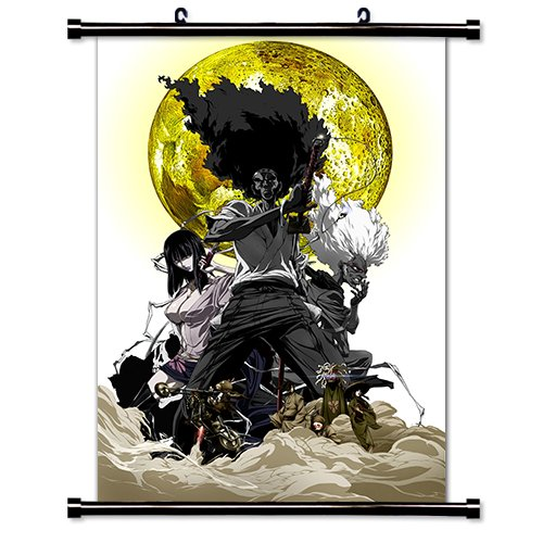 Afro Samurai Anime Fabric Wall Scroll Poster  Inches