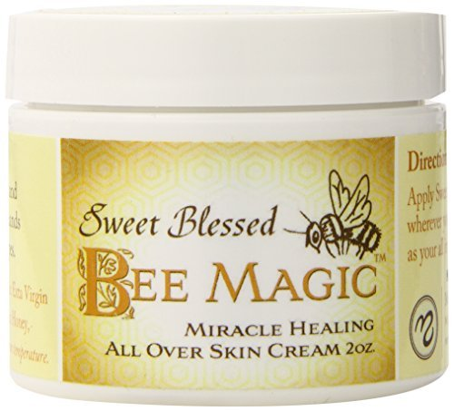 Medicine Mama's Apothecary Sweet Blessed Bee Magic Cream, 3 Count/6 Ounces Total by Medicine Mama's Apothecary (Blessed Bee Sweet Magic)