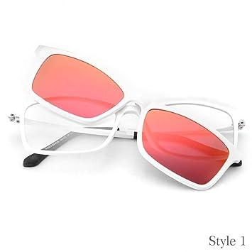 DAYANGE Gafas de Sol Personalizadas para Bicicleta Myopia Uv400 de Doble Lente polarizadas para Bicicletas,
