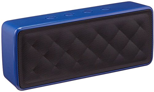AmazonBasics - Altavoz portátil Bluetooth, color azul