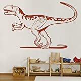 yaunor Dinosaur décor Alectrosaurus World Jurassic Dinosaur Wall Decal Sticker Dinosaur Room Decor for Boys