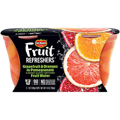 🥇 Del Monte Fruit Refreshers Snack Cups