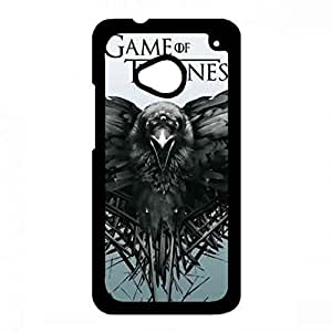 Fashionable Game of Thrones Phone Funda Game of Thrones HTC One M7 Phone Funda Appealing Cover Funda 031