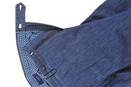 Incotex Pantalon Homme 54 Bleu foncé / Jeans Taille normale Coupe droite R