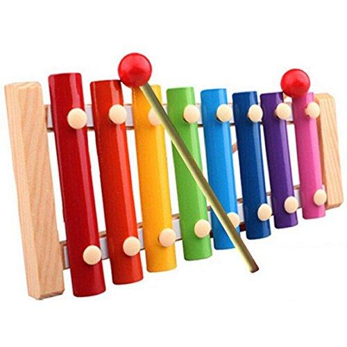 LUNIWEI Baby Kid Musical Toys Xylophone Wisdom Development Wooden Instr...
