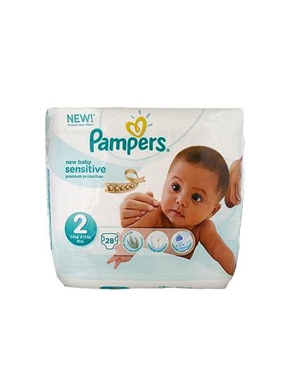Pampers New Baby Sensitive 28 Pañales talla 2 (3 – 6 ...