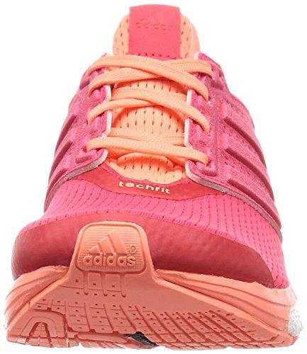 Adidas Supernova Glide 8 W Dames Dames Hardloopschoenen Sneaker Roze Oranje