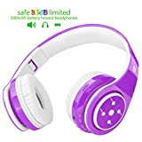 2018 New! Bluetooth Headphones for Kids, 85db Volume Limited, up to 6-8 Hours