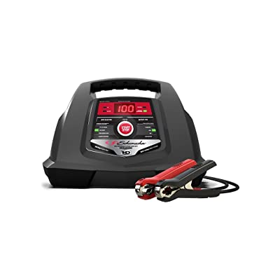 Schumacher SC1281 6/12V Fully Automatic Battery Charger and 30/100A Engine Starter with Advanced Diagnostic Testing: Automotive