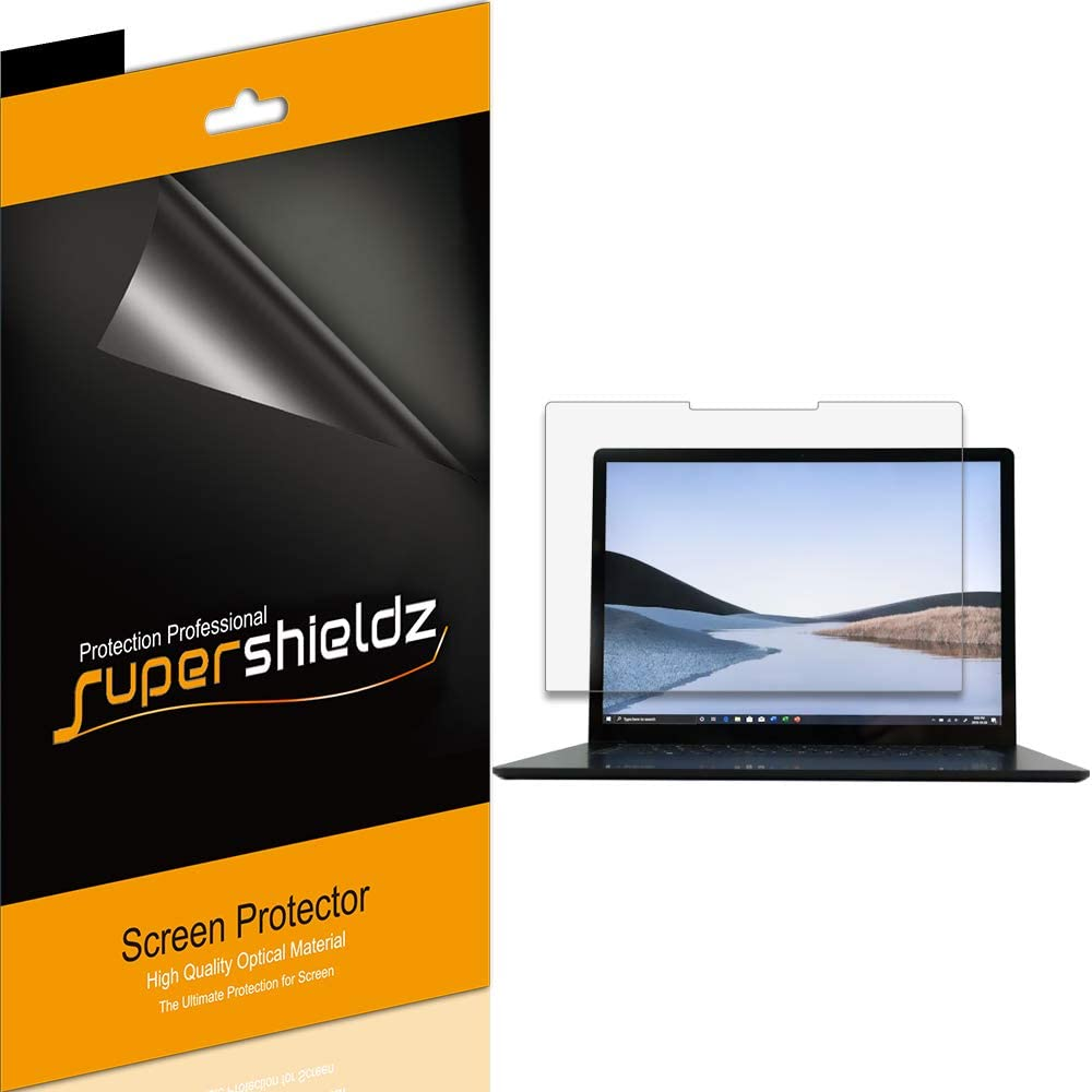 (3 Pack) Supershieldz for Microsoft Surface Laptop 3 (15 inch) Screen Protector, Anti Glare and Anti Fingerprint (Matte) Shield