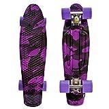 High Bounce Complete 22' Skateboard (Purple Camo)