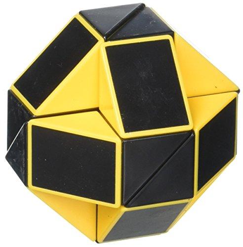 Shengshou Magic Snake Yellow and Black Twisty Toy Puzzle ()