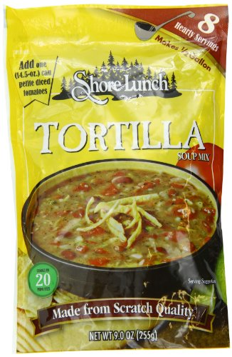 Shore Lunch Tortilla Soup Mix, 9-Ounce (Pack of 3) (Best Low Calorie Lunch)