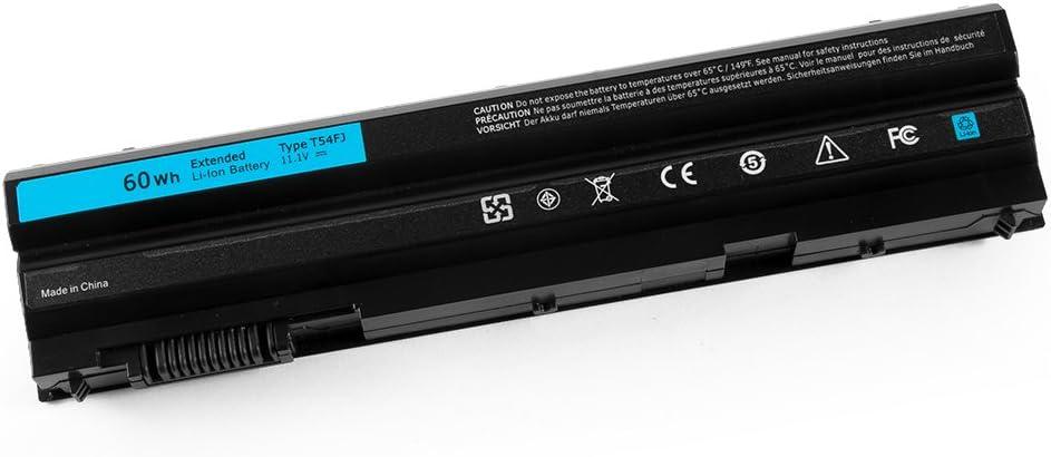 CPY T54FJ 60Wh M5Y0X E6420 Laptop Battery for Dell Latitude E5420 E5520 E6420 E6520 Inspiron 4420 5420 M421R M521R 11.1V 60Wh
