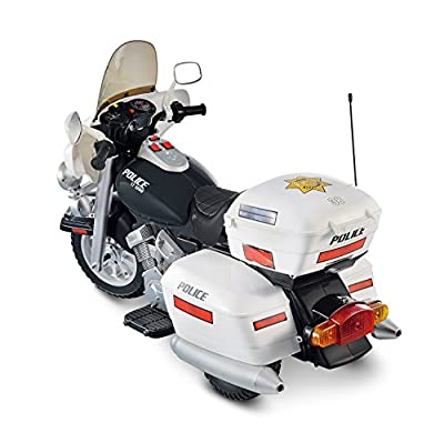 12V Police Motorcycle by Fun Creation Inc. dba National Products Ltd (Drop Ship Ordering Code)