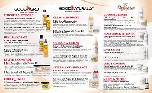 Good2Gro Edge Control - Smoothes and Controls Unruly Edges; Locks-In Styles; Non Greasy; No Flake, Tack or Itch; Adds Moisture and Shine 4 oz. by Good2Gro (Image #3)
