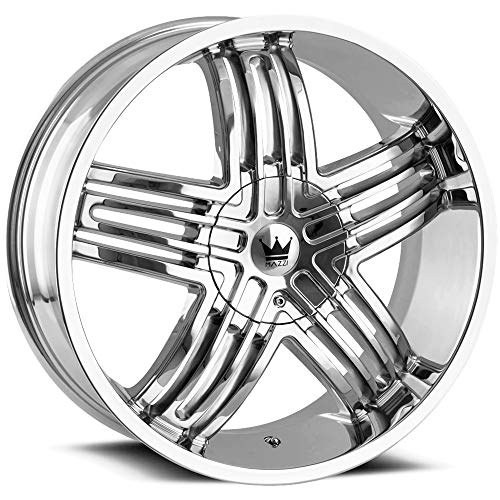 Mazzi ENTICE 368 Wheel with Chrome Finish (20 x 8.5 inches /5 x 110 mm, 35 mm Offset) ()