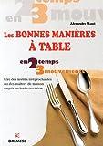 Les bonnes manières à table : Etres des invités irréprochable ou de maîtres de maison exquis en toute occasion