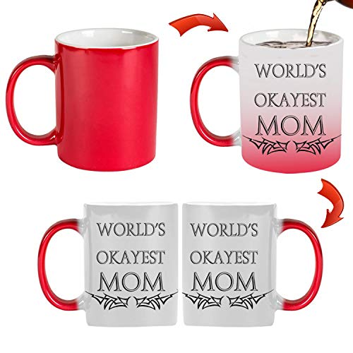 Used, TK.DILIGARM WORLD'S OKAYEST MOM Coffee Mugs in Gift for sale  Delivered anywhere in USA