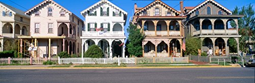 Victorian homes in Cape May New Jersey Poster Print (36 x - Victorian Cape May