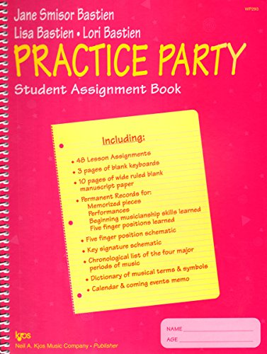 Assignment Book Student (WP293 - Practice Party Student Assignment Book)